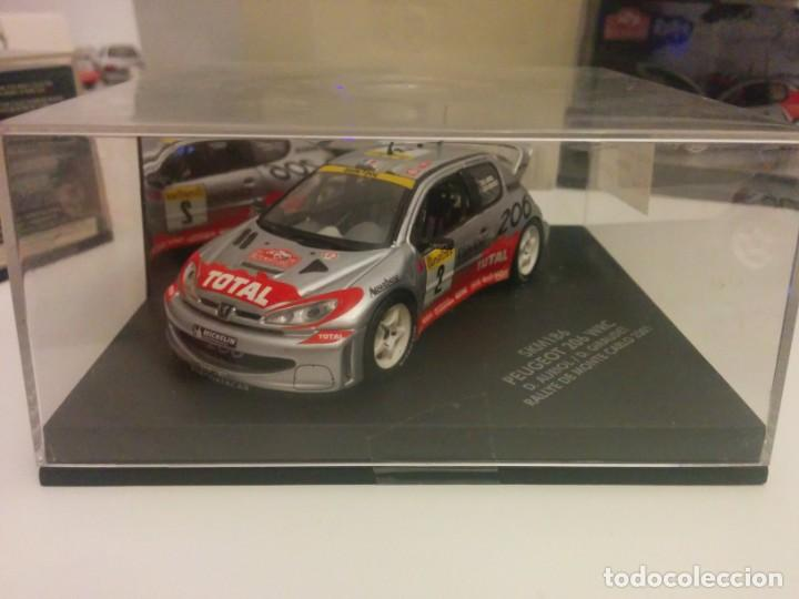 PEUGEOT 206 WRC RALLY MONTE CARLO (Juguetes - Coches a Escala 1:43 Otras Marcas)
