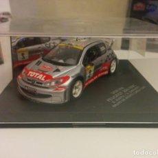 Coches a escala: PEUGEOT 206 WRC RALLY MONTE CARLO. Lote 148516842