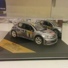 Coches a escala: PEUGEOT 206 WRC RALLY MONTE CARLO. Lote 148662478