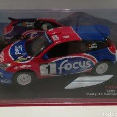 Coches a escala: FORD FOCUS WRC, TXUS JAIO, RALLY DE CANGAS DEL NARCEA 2002, IXO-ALTAYA. Lote 148700508