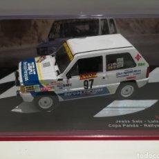 Coches a escala - Seat Panda 45, Jesús Saiz, Rally Costa Brava 1984,Ixo-altaya - 148702549