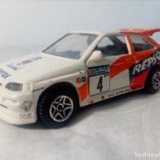 Coches a escala: GUISVAL COCHE FORD SCORT WRC (CARLOS SAINZ Y LUIS MOYA) 1/43. Lote 148794378
