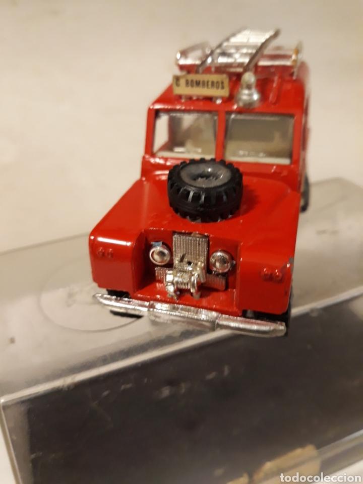 Coches a escala: NACORAL INTER CARS LAND ROVER BOMBEROS EN CAJA - Foto 2 - 148910888