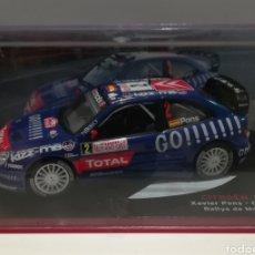 Coches a escala: CITROEN XSARA WRC, XAVIER PONS, RALLYE DE MONTE CARLO 2006, IXO ALTAYA. Lote 149257212