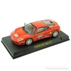 Coches a escala: FERRARI 360 GT (ROJO) 1:43 PROMOCIONAL. Lote 149293464
