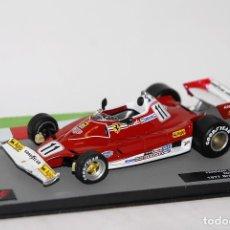 Coches a escala: FERRARI 312T2 #11 N. LAUDA F1 WORLD CHAMPION 1977 1:43 PROMOCIONAL. Lote 165930954