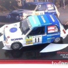 Model Cars - Renault 5 GT Turbo #11 J. Piñón Rally San Froilán 1988 1:43 Promocional - 149295657