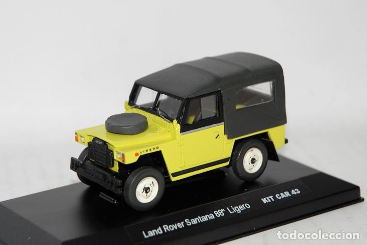 land rover santana 88 ligero 1:43 kc43-factory - kaufen modellautos
