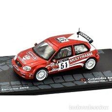 Coches a escala - Citroen Saxo S1600 #51 A. Dallavilla Rally Sanremo 2002 1:43 Promocional - 149295833