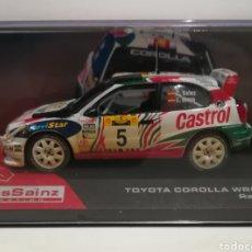 Coches a escala: TOYOTA COROLLA WRC, CARLOS SAINZ, RALLYE SAFARI 1998,IXO-ALTAYA. Lote 149401450