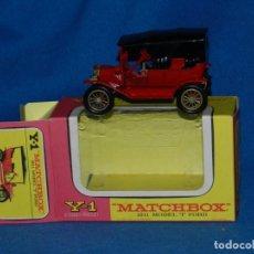 Coches a escala: (M) MATCHBOX Y-1 1911 MODEL T FORD CON CAJA, BUEN ESTADO. Lote 150265338