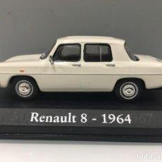 Coches a escala: COCHE RENAULT 8- 1964 ESCALA 1/43. Lote 150389650