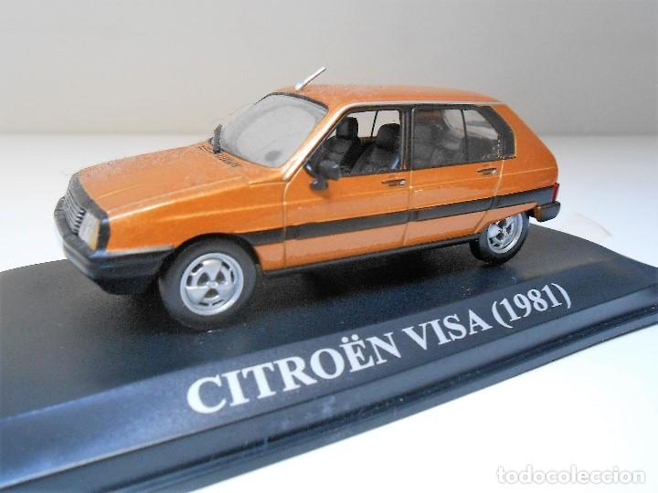 COCHE CITROEN VISA 1981 ESCALA 1/43 1:43 METAL MODEL CAR MINIATURA ALFREEDOM (Juguetes - Coches a Escala 1:43 Otras Marcas)