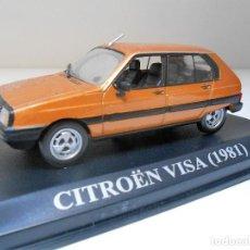 Coches a escala: COCHE CITROEN VISA 1981 ESCALA 1/43 1:43 METAL MODEL CAR MINIATURA ALFREEDOM . Lote 150516450