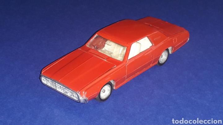 Coches a escala: Ford Thunderbird ref. 105, metal, esc. 1/43, Nacoral Inter-Cars, Zaragoza España, original año 1967. - Foto 2 - 150629946