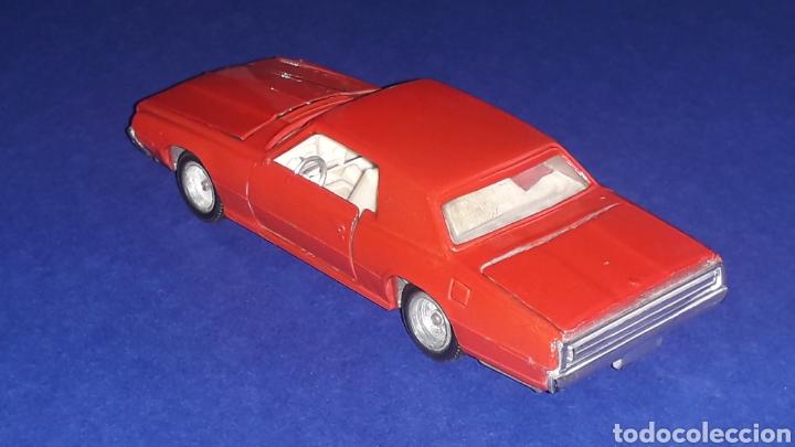 Coches a escala: Ford Thunderbird ref. 105, metal, esc. 1/43, Nacoral Inter-Cars, Zaragoza España, original año 1967. - Foto 3 - 150629946