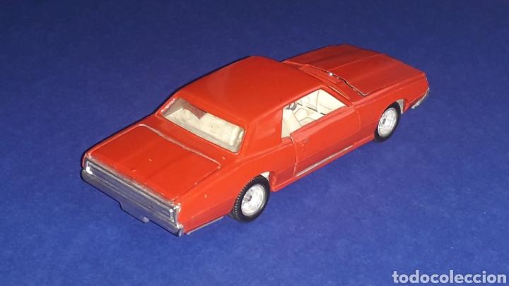 Coches a escala: Ford Thunderbird ref. 105, metal, esc. 1/43, Nacoral Inter-Cars, Zaragoza España, original año 1967. - Foto 4 - 150629946