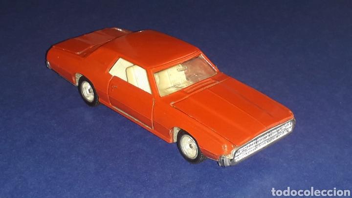 Coches a escala: Ford Thunderbird ref. 105, metal, esc. 1/43, Nacoral Inter-Cars, Zaragoza España, original año 1967. - Foto 5 - 150629946
