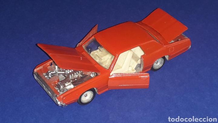 Coches a escala: Ford Thunderbird ref. 105, metal, esc. 1/43, Nacoral Inter-Cars, Zaragoza España, original año 1967. - Foto 6 - 150629946