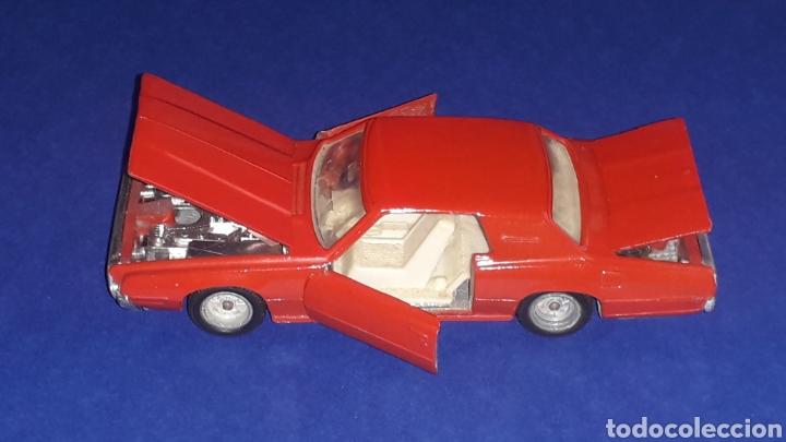 Coches a escala: Ford Thunderbird ref. 105, metal, esc. 1/43, Nacoral Inter-Cars, Zaragoza España, original año 1967. - Foto 7 - 150629946
