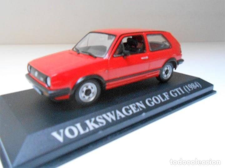 COCHE VOLKSWAGEN GOLF GTI ALTAYA IXO QUERIDOS COCHES MODEL CAR 1/43 1:43 MINIATURE 1984 (Juguetes - Coches a Escala 1:43 Otras Marcas)