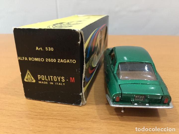Coches a escala: ALFA ROMEO 2600 ZAGATO POLITOYS ESCALA 1:43 - Foto 4 - 150683946