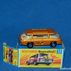 Coches a escala: (M) COCHE MATCHBOX FREEMAN INTER.CITY COMMUTER 22 CON CAJA , BUEN ESTADO. Lote 150809594