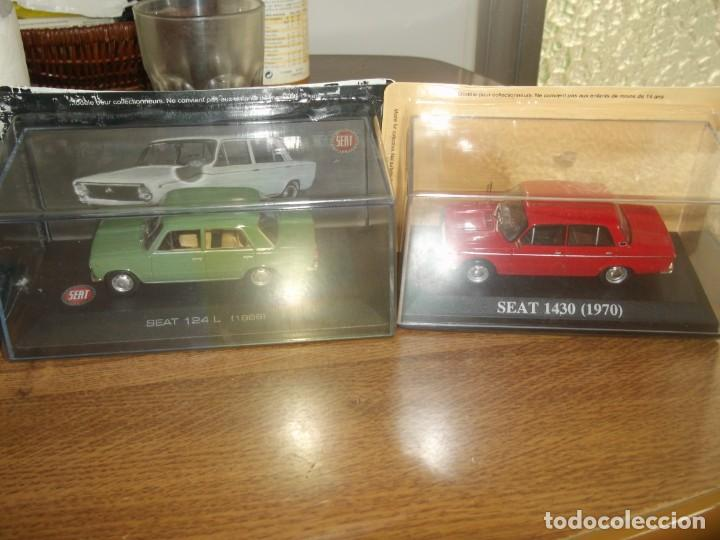 SEAT 124 L Y SEAT 1430 IXO ALTAYA. 1.43 (Toys - Model Cars at Scale 1:43 Other Brands)