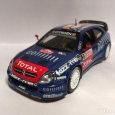 Coches a escala: IXO 1:43 ALTAYA NUESTROS CAMPEONES DE RALLYES CITROEN XSARA WRC XAVIER PONS CARLOS DEL BARRIO (2006). Lote 151047478