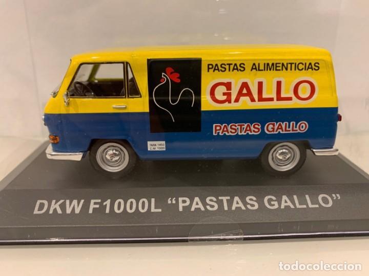 FURGONETA DKW F1000L PASTAS GALLO IXO ALTAYA. 1.43 (Juguetes - Coches a Escala 1:43 Otras Marcas)