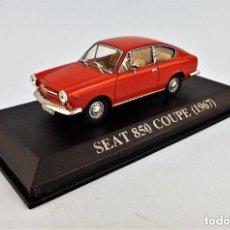Coches a escala: SEAT 850 COUPÉ 1967 . IXO ALTAYA 1.43. Lote 151873622