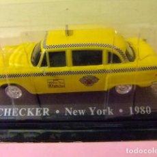 Coches a escala: CHECKER TAXI DE NEW YORK 1980. Lote 151879038