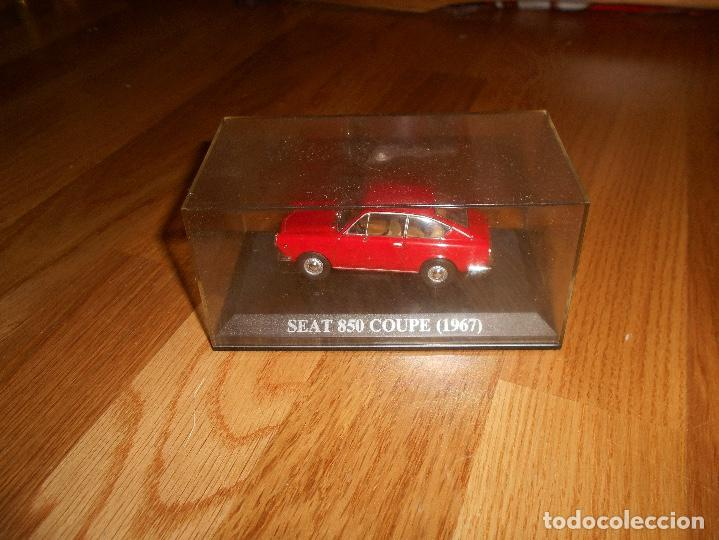 Coches a escala: 1:43 COCHE SEAT 850 COUPE 1967 MODEL CAR 1/43 IXO ALTAYA MINIATURA METAL - Foto 1 - 151900930