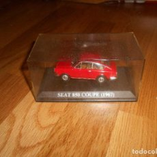 Coches a escala: 1:43 COCHE SEAT 850 COUPE 1967 MODEL CAR 1/43 IXO ALTAYA MINIATURA METAL. Lote 151900930