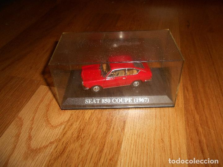 Coches a escala: 1:43 COCHE SEAT 850 COUPE 1967 MODEL CAR 1/43 IXO ALTAYA MINIATURA METAL - Foto 3 - 151900930