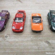 Coches a escala: LOTE 4 COCHES PORSCHE - 928 COUPE - 911 GT3 - SOLIDO 914 - SOLIDO 911 GT 2 - MUY BUEN ESTADO. Lote 152007282
