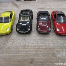 Coches a escala: LOTE 4 COCHES PORSCHE - 911 TARGA - 911 CARRERA COUPE - 959 COUPE - 911 CARRERA CA - MUY BUEN ESTADO. Lote 152008046
