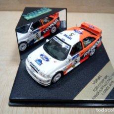 Coches a escala: FORD ESCORT WRC WINNER ACRÓPOLIS RALLY 1997 C.SAINZ/MOYA ESCALA 1/43 VITESSE. Lote 152137458