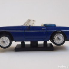 Coches a escala: NEW RAY - MG 1967 - MGB - AZUL - METALICO - 1/43 - MADE IN CHINA. Lote 152291698