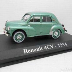 Coches a escala: RENAULT 4CV 1954. RBA IXO. 1.43.. Lote 153073618