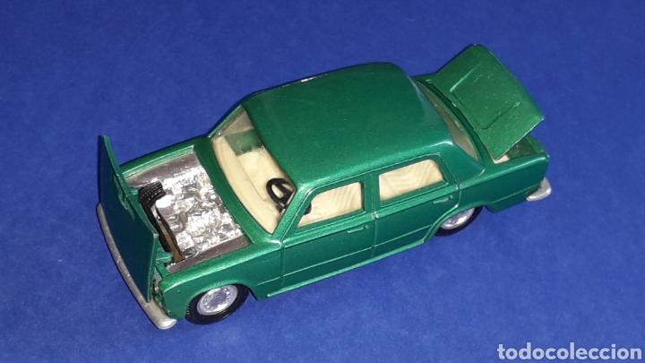 Coches a escala: Seat 124 *verde metalizado* ref. 106, esc. 1/43, Joal made in Spain. Original años 70. - Foto 6 - 153891646