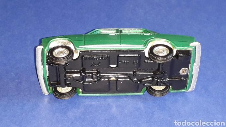 Coches a escala: Seat 124 *verde metalizado* ref. 106, esc. 1/43, Joal made in Spain. Original años 70. - Foto 7 - 153891646
