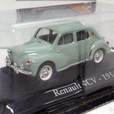 Coches a escala: RENAULT 4CV 1954. IXO ALTAYA . 1.43.. Lote 153073166
