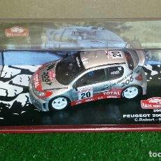 Coches a escala: PEUGEOT 206 WRC RALLY MONTE CARLO (2003) ALTAYA ESCALA 1/43. Lote 154917030