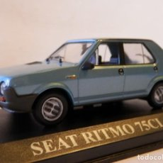 Coches a escala: SEAT RITMO 75 CL 1979--ALTAYA--1/43--LUGOY. Lote 154989734