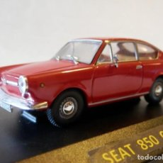 Coches a escala: SEAT 850 COUPE 1967--ALTAYA--1/43--LUGOY. Lote 155147794