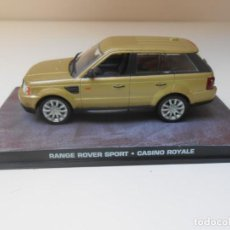 Carros em escala: 1/43 COCHE JAMES BOND RANGE ROVER SPORT CASINO ROYALE 1:43 MINIATURE MODEL. Lote 155561510