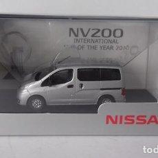 Coches a escala: NISSAN NV200 (PLATA) 1:43 PROMOCIONAL. Lote 155596545