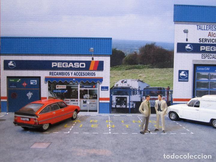 Coches a escala: Diorama 1/43 Pegaso talleres 80 (II). Especial vitrinas. Personalizamos nombre taller GRATIS. - Foto 7 - 155755702