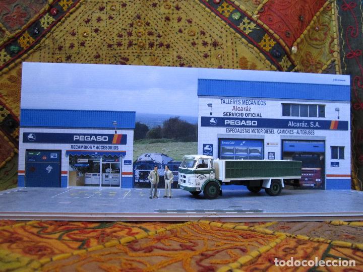 Coches a escala: Diorama 1/43 Pegaso talleres 80 (II). Especial vitrinas. Personalizamos nombre taller GRATIS. - Foto 9 - 155755702